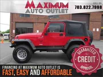 2005 Jeep Wrangler for sale in Manassas, VA