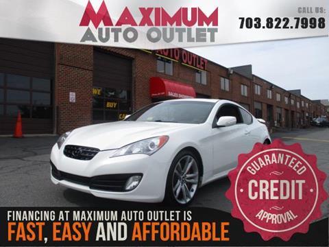 2011 Hyundai Genesis Coupe for sale in Manassas, VA