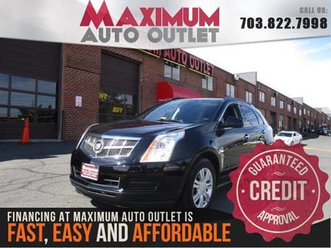 2012 Cadillac SRX for sale in Manassas, VA