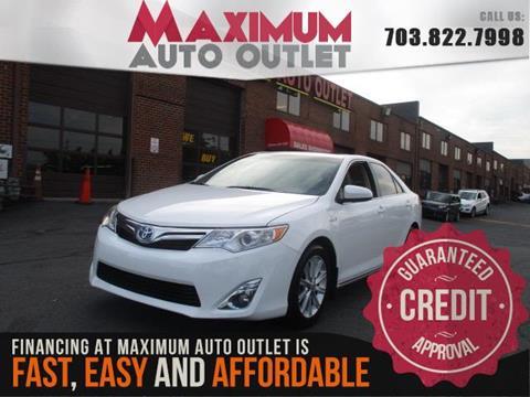 2013 Toyota Camry Hybrid for sale in Manassas, VA
