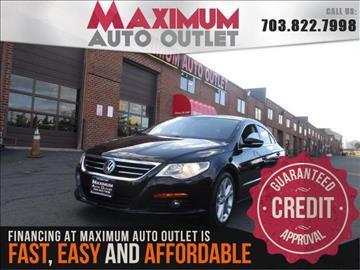 2009 Volkswagen CC for sale in Manassas, VA