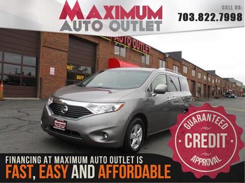 2013 Nissan Quest for sale in Manassas, VA