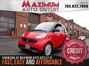 2013 Smart fortwo for sale in Manassas, VA