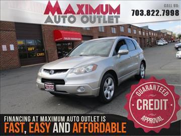 2009 Acura RDX for sale in Manassas, VA