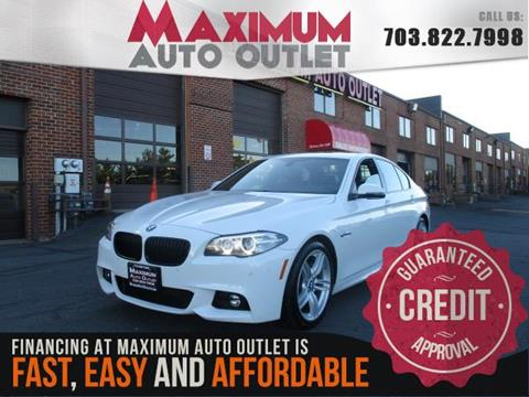 2014 bmw 5 series for sale in manassas va. Black Bedroom Furniture Sets. Home Design Ideas