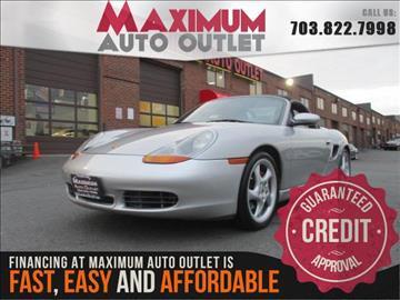 2000 Porsche Boxster for sale in Manassas, VA