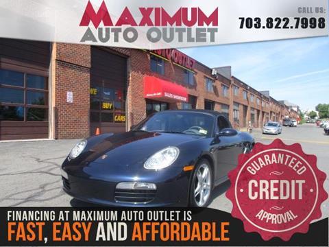 2007 Porsche Boxster for sale in Manassas, VA