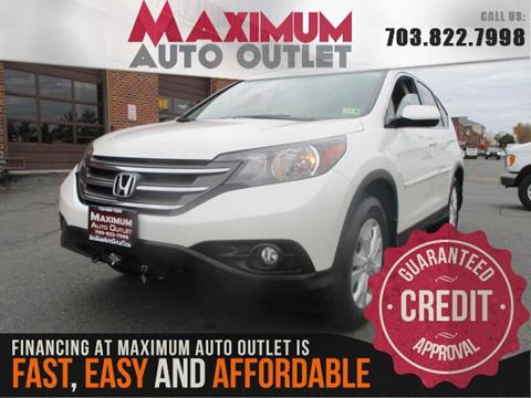 2014 Honda CR-V for sale in Manassas, VA