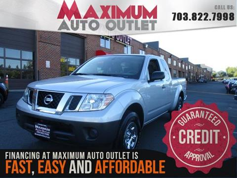 2015 Nissan Frontier for sale in Manassas, VA