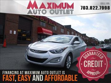 2014 Hyundai Elantra for sale in Manassas, VA