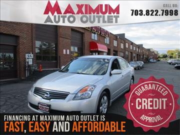 2007 Nissan Altima for sale in Manassas, VA