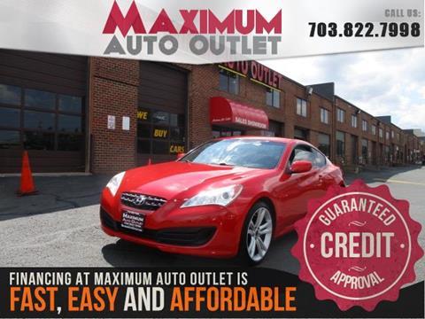 2012 Hyundai Genesis Coupe for sale in Manassas, VA