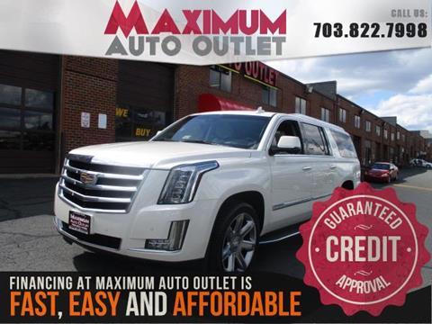 used 2015 cadillac escalade for sale in manassas va. Black Bedroom Furniture Sets. Home Design Ideas