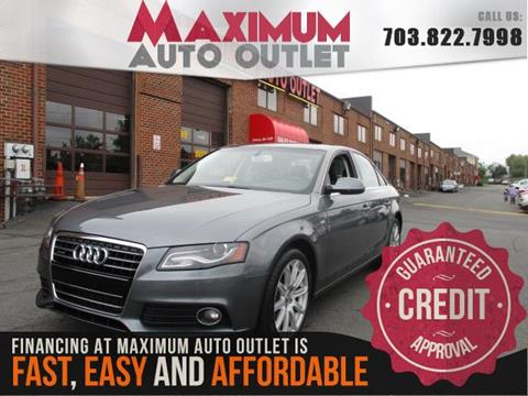 2012 Audi A4 for sale in Manassas, VA