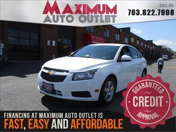 2014 Chevrolet Cruze for sale in Manassas, VA