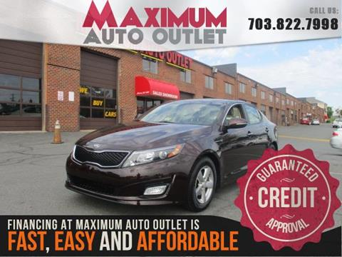 2014 Kia Optima for sale in Manassas, VA