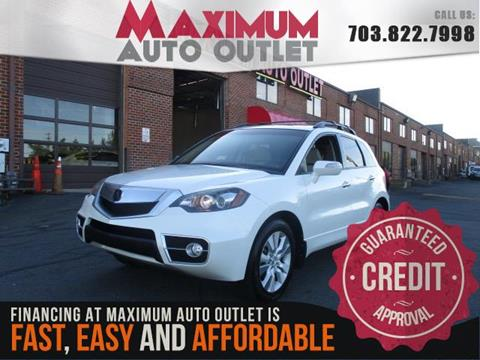 2011 Acura RDX for sale in Manassas, VA