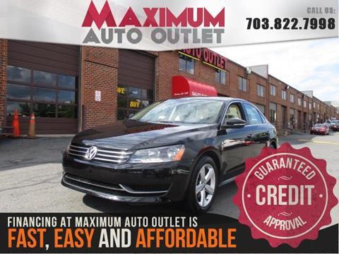 2012 Volkswagen Passat for sale in Manassas, VA