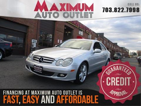 2006 Mercedes-Benz CLK for sale in Manassas, VA