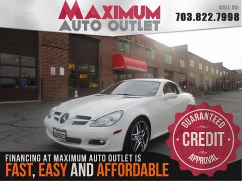 2007 Mercedes-Benz SLK for sale in Manassas, VA