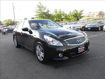 2011 Infiniti G37 Sedan for sale in Manassas, VA