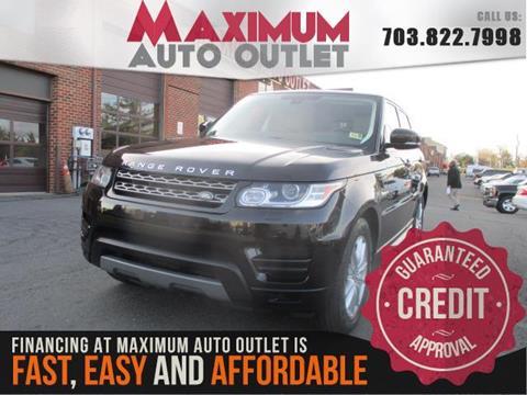 2015 Land Rover Range Rover Sport for sale in Manassas, VA