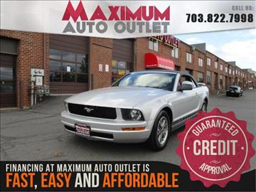 2005 Ford Mustang for sale in Manassas, VA
