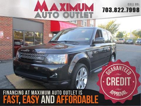 2013 Land Rover Range Rover Sport for sale in Manassas, VA