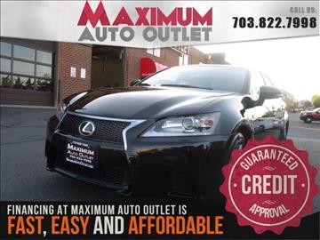 2014 Lexus GS 350 for sale in Manassas, VA