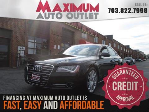 2014 Audi A8 L for sale in Manassas, VA