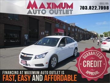 2012 Chevrolet Cruze for sale in Manassas, VA