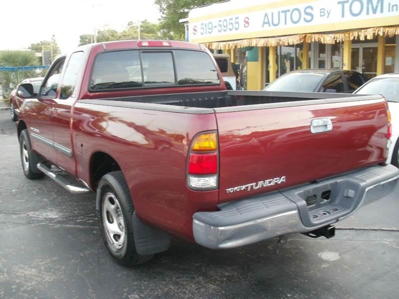 2003 Toyota Tundra 4dr Access Cab SR5 RWD SB V6 - Largo FL