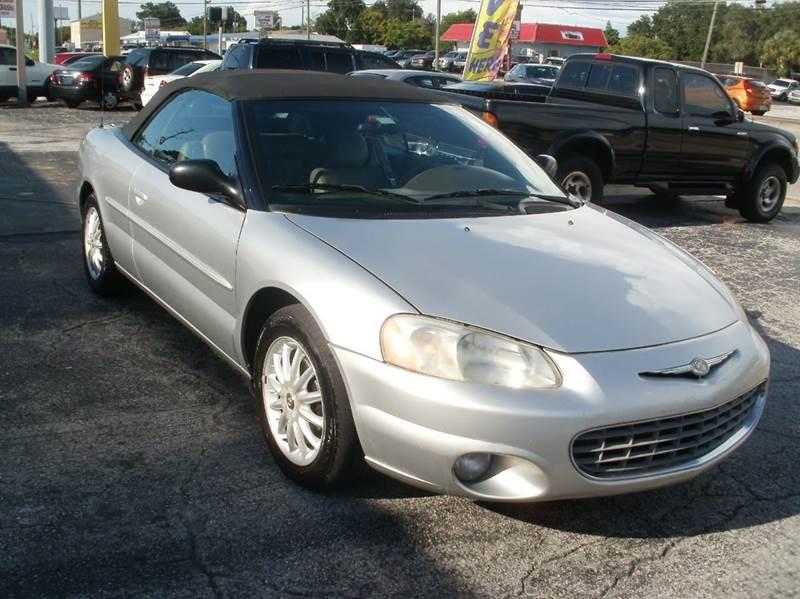 2003 Chrysler Sebring LXi FFV 2dr Convertible - Largo FL