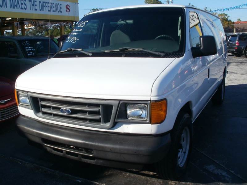 2005 Ford E Series Cargo For Sale In Largo FL