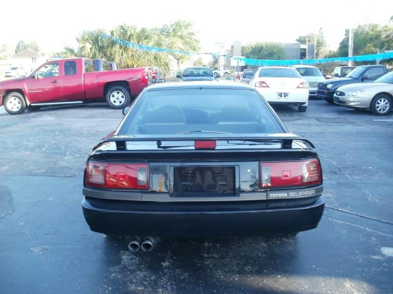 1988 Toyota Supra 2dr Hatchback - Largo FL