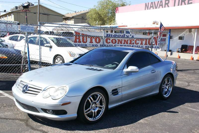 2003 mercedes benz sl class sl55 amg 2dr convertible in for Mercedes benz henderson