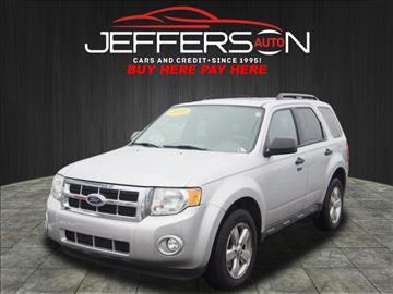 2009 Ford Escape & Ford Used Cars Pickup Trucks For Sale Washington Jefferson Auto Inc markmcfarlin.com