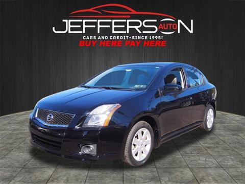 2010 Nissan Sentra for sale in Washington, PA