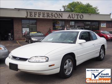 1999 Chevrolet Monte Carlo for sale in Washington, PA