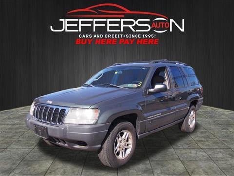 2003 Jeep Grand Cherokee for sale in Washington, PA