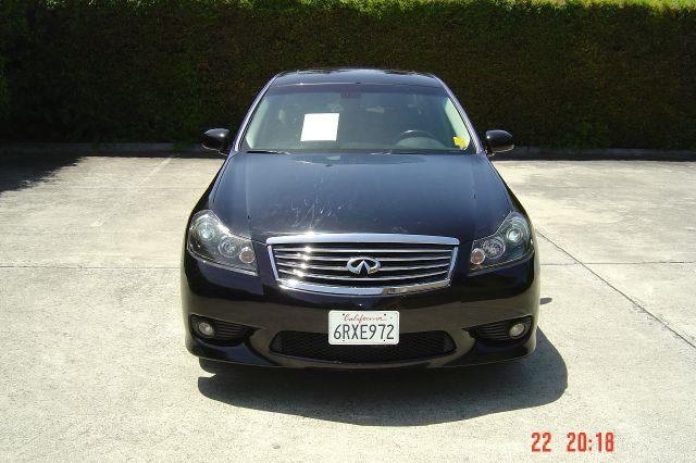 2008 INFINITI M35 BASE 4DR SEDAN black 18-inch polished diamond-cut wheels 2-stage unlocking - re