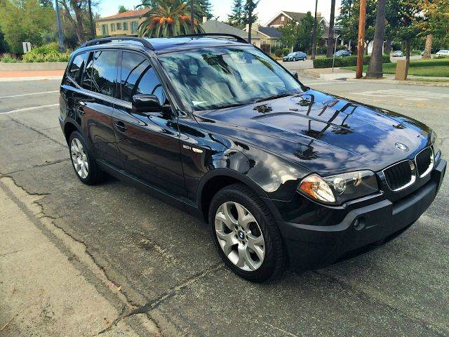 2005 BMW X3 30I AWD 4DR SUV black 5-speed automatic transmission abs - 4-wheel center console -
