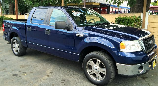 2007 FORD F-150 XLT 4DR SUPERCREW STYLESIDE 65 blue 2-stage unlocking - remote abs - 4-wheel an