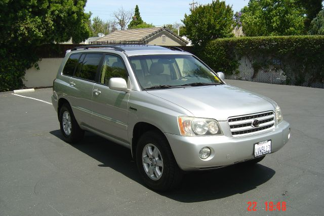 2002 TOYOTA HIGHLANDER LIMITED AWD 4DR SUV silver 16 inch wheels abs - 4-wheel alloy wheels ant