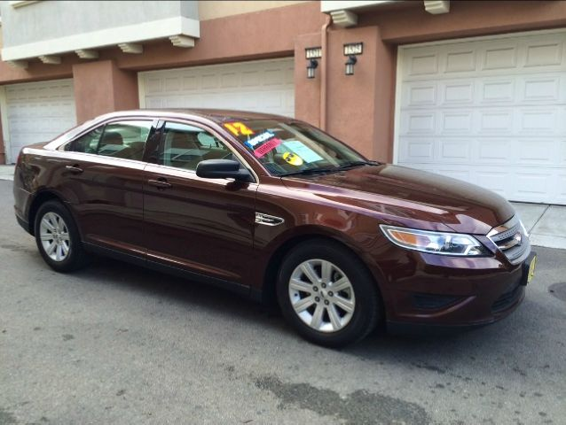 2012 FORD TAURUS SE FWD burgandy equipment  traction control  advancetrac  abs 4-wheel  keyless