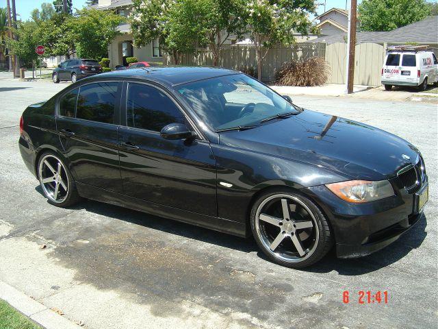 2007 BMW 3 SERIES 328I 4DR SEDAN black 2-stage unlocking - remote 6-speed steptronic automatic tr