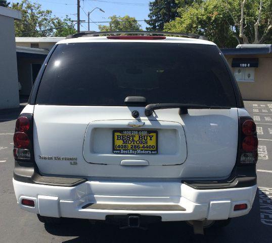 2008 CHEVROLET TRAILBLAZER LT1 4X4 SUV white abs - 4-wheel adjustable lumbar support alternator