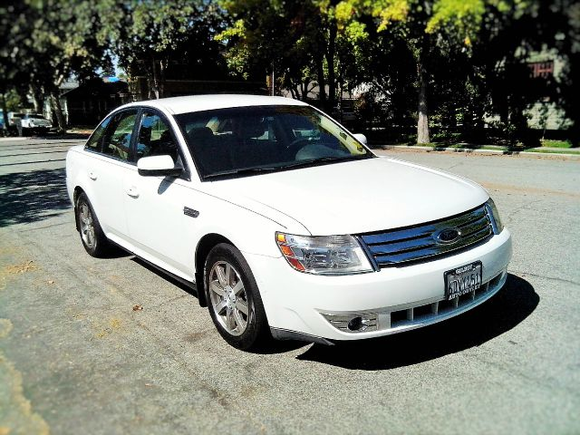 2008 FORD TAURUS SEL SEDAN white abs - 4-wheel anti-theft system - alarm anti-theft system - eng