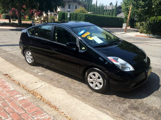 2004 TOYOTA PRIUS BASE 4DR HATCHBACK black abs - 4-wheel alloy wheels center console clock cru