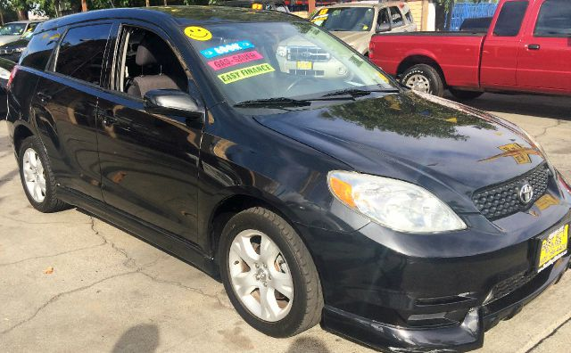 2003 TOYOTA MATRIX XR 4DR WAGON black 4-speed automatic transmission alloy wheels anti-theft ala